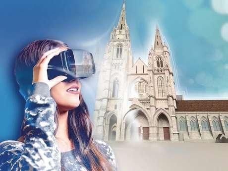 Vacances de Noël : L'abbaye Saint-Jean-des-Vignes en 3D