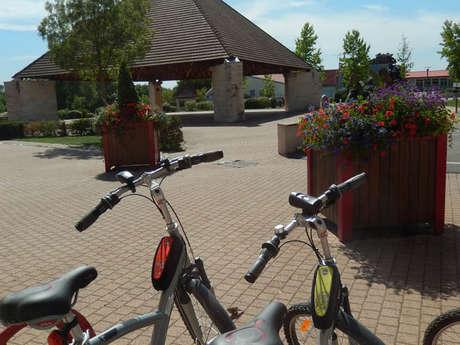 La Porte Verte /Halte Nautique du Canal du Centre - Location de vélos