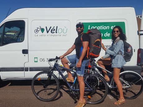 Location livraison de vélos - Véloù