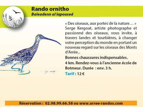 Rando ornitho - Mercredi 12 août