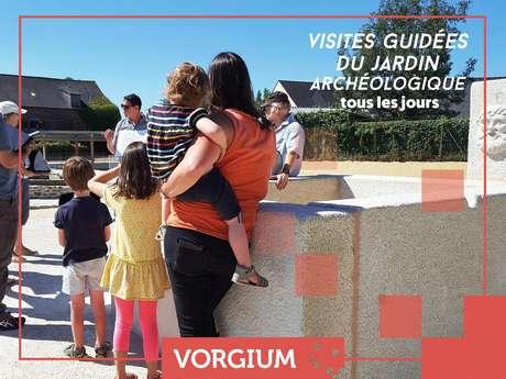 Visite guidée du jardin archéologique de Vorgium