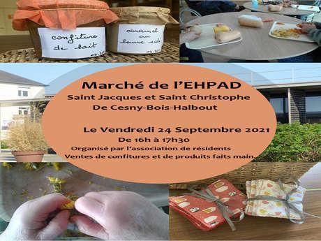 Marché de l'EHPAD Saint Jacques et Saint Christophe