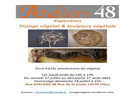 """Exposition """"CHRIS PATEL"""" aux Ateliers 48"""