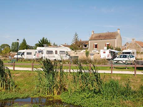 Aire de camping-cars intercommunale d'Hérouvillette