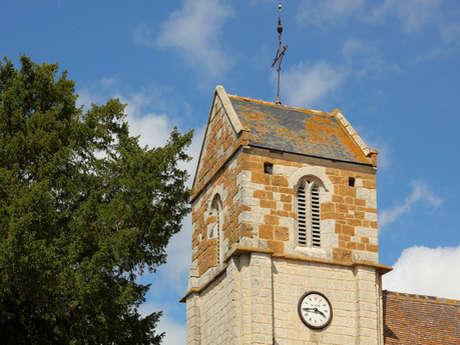 Eglise Saint Aubin - 11ème, 12ème et 13ème siècles