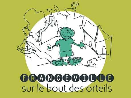 Franceville sur le bout des orteils