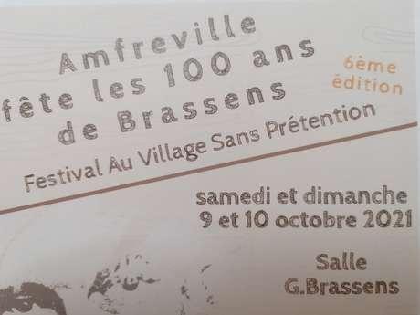 Festival Brassens - Au village sans prétention