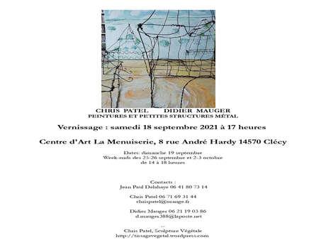 Exposition à la Menuiserie - Didier Mauger et Chris Patel