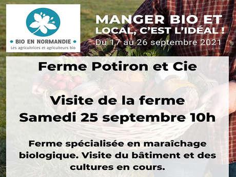 Visite de la Ferme Potiron & Cie