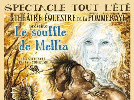 """Spectacle """"Le souffle de Mélia"""" - Théâtre équestre de la Pommeraye"""