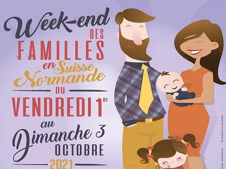 Week-end des familles en Suisse Normande