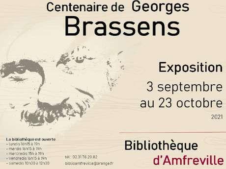[Exposition] Vie et œuvre de Georges Brassens