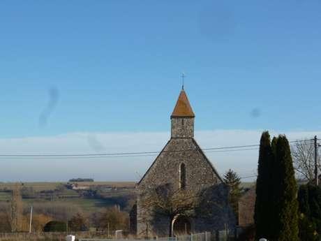 Eglise Saint Martin au Mesnil-Touffray (XIIIème, remaniée au XVIIIème)
