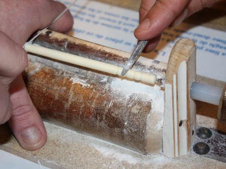 Atelier tabletterie : fabriquez votre épingle à cheveux en os
