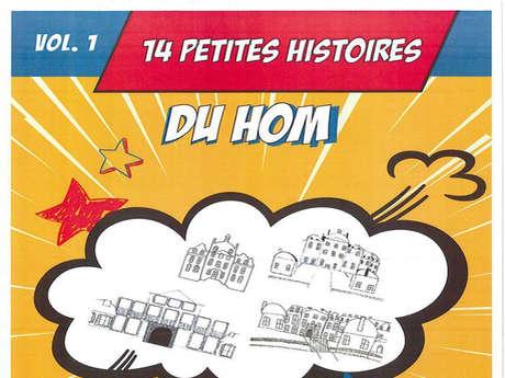 """Exposition en plein-air """"14 petites histoires du Hom"""""""