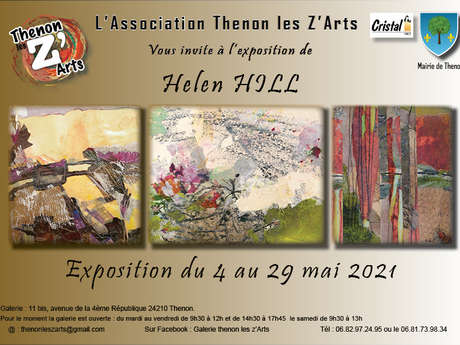 Exposition Galerie Thenon Les Z'Arts - Helen Hill