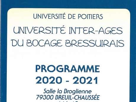Conférence Université Inter-âges - Histoire - géographie