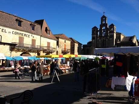 Marché de Villefranche du Périgord