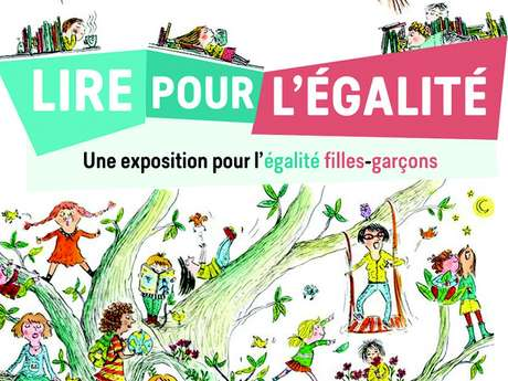 """Exposition """"Lire pour l'égalité"""""""