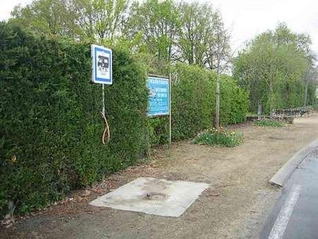 Aire de service municipale de camping car de Saint Amand-sur-Sèvre