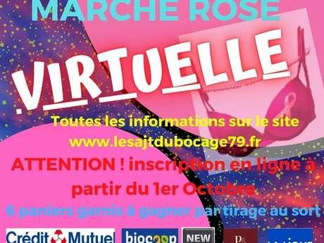 Marche Rose virtuelle