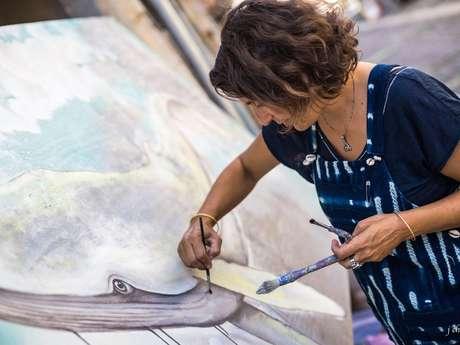 Street Art Bressuire - Sarah Guidoin