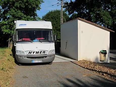 Aire d'accueil municipale de camping car - Boismé
