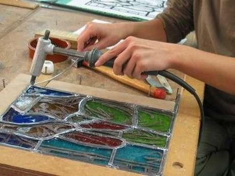 CIV : Ateliers d'initiation au vitrail