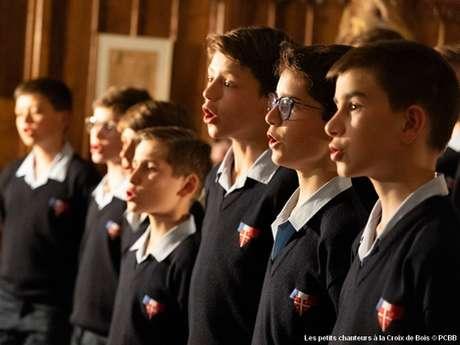 Les Petits Chanteurs à la Croix de Bois en concert