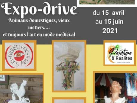 Expo-drive sur les animaux domestiques et les vieux métiers