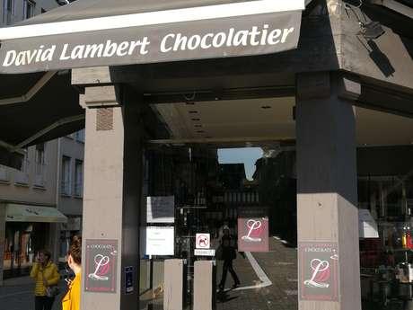 Pâtissier chocolatier David Lambert