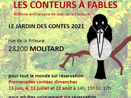 Le Jardin des Contes 2021 - Les conteurs à fables