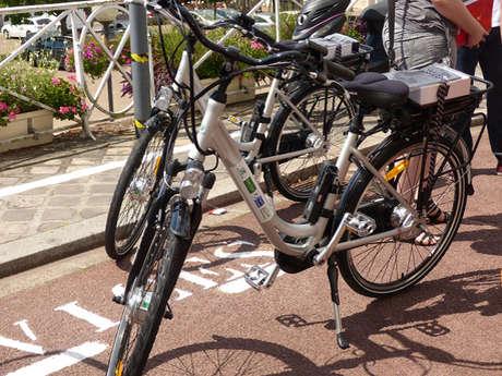 Location de vélos électriques, VAE