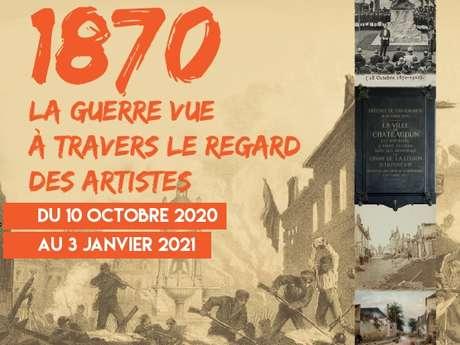 Exposition au musée - La guerre de 1870 vue à travers le regard des artistes