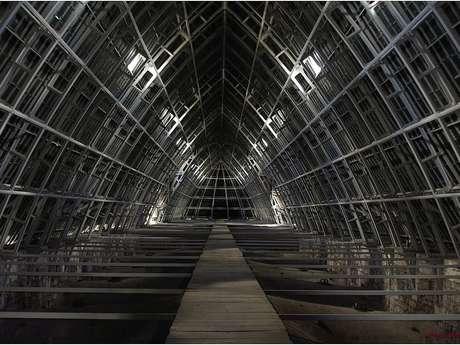 Grands combles de la cathédrale de Chartres