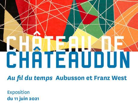 """Exposition """"Au fil du temps Aubusson et Franz West"""" au château"""