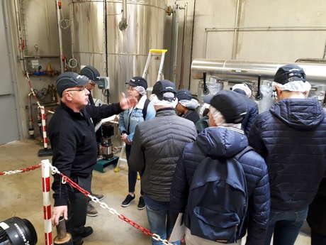 Visite de la chaufferie biomasse