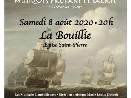 Les musicales Lamboliennes - ANNULÉ