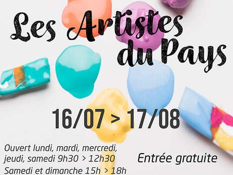 Expo-Les artistes du pays
