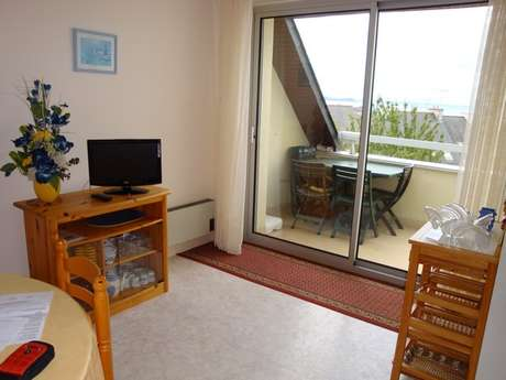Appartement avec balcon vue mer