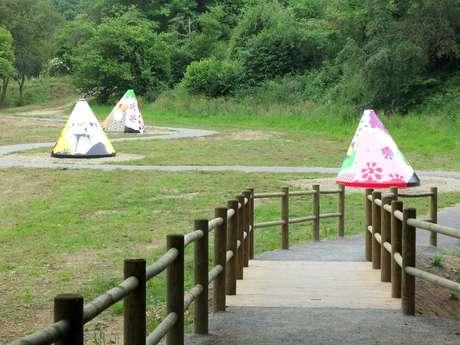 Parcours artistique et naturel au Bois de Kergré