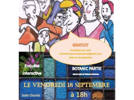 Botanic Partie, film jeu de Nathalie Massé