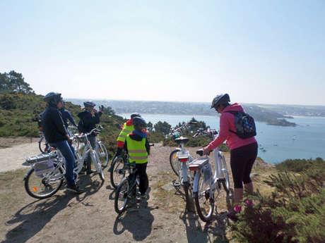 Destination le Cap d'Erquy en vélo à assistance électrique