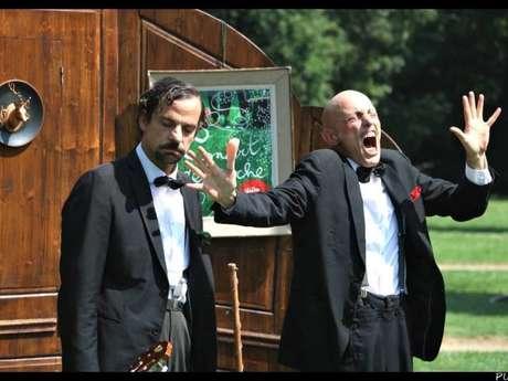 Spectacle arts de la rue : Concert de poche - Compagnie de Poche