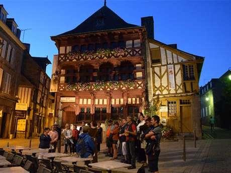Visite guidée nocturne Lamballe au Moyen-Age