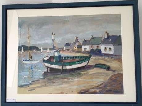 Expo peinture - Oeuvres de Maurice Neveu