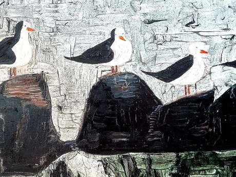 Expo peinture - Ilyogaelee - Gwenaëlle Guennou