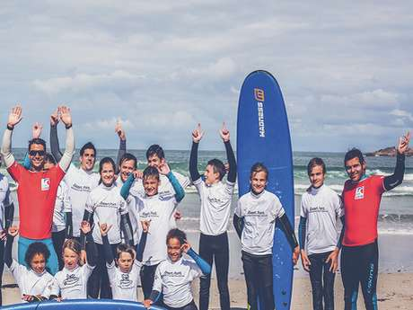 Dezert Point Ecole de Surf de Pors-Carn