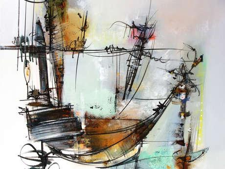 Expo - peintures Jean-Luc Girard - Dialogue