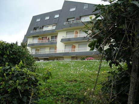 Appartement avec balcon proche du centre d'Erquy